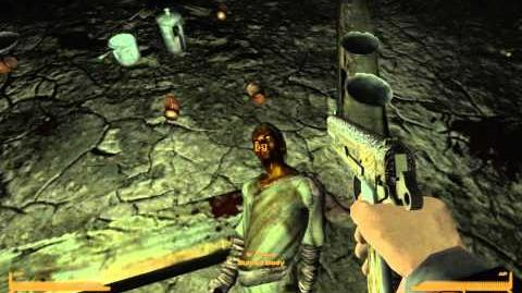Fallout New Vegas - Myth Investigations Episode 1 Burned bodies