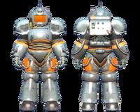 CC-00 power armor Chrome paint