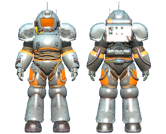 CC-00 power armor Chrome paint