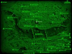 FO4 Институт (карта мира)