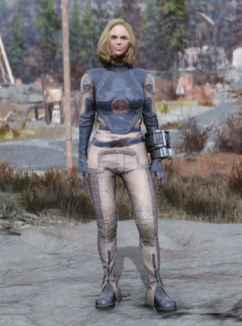 Fallout 76 Forest Operative Underarmor