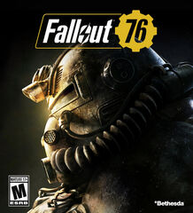 Fallout 76 box cover