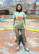 Fo4 Nuka-World Shirt and Jeans female