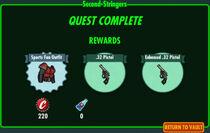 FoS Second-Stringers rewards