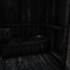 Magazine location (Outhouse)