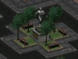 Vault Dweller statue
