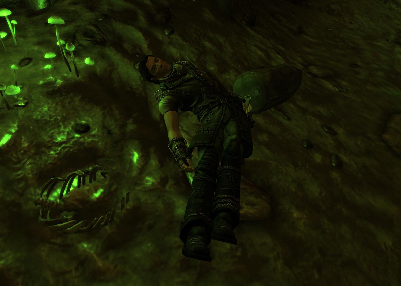 Dead mercenary