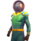FO76LR Captain Cosmos Outfit Green