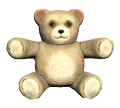FO76 Pristine teddy bear