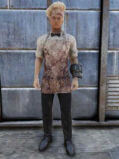 FO76 bloody chef outfit