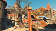 NukaWorld Nuka-Town entrance