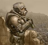 Power Armor by Simon Lissaman