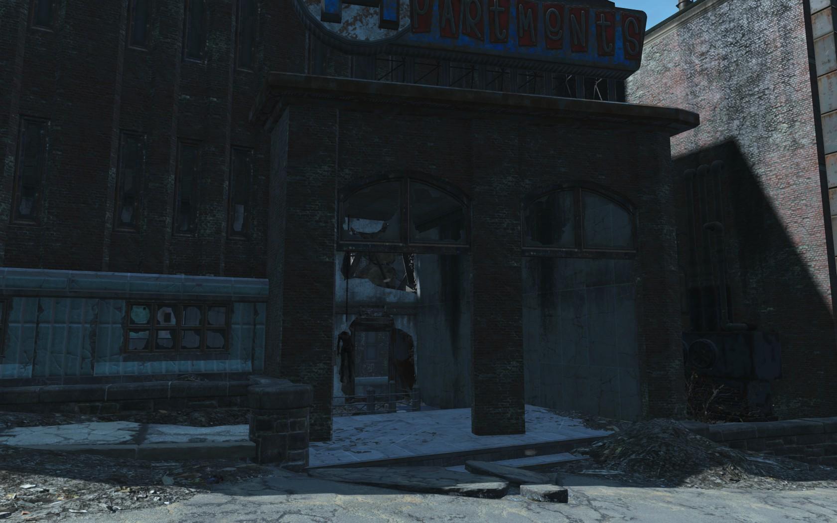 Hangman's Alley Side Entrance