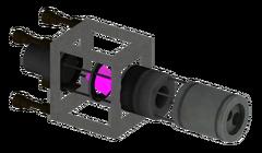 Laserriflebeamsplitter