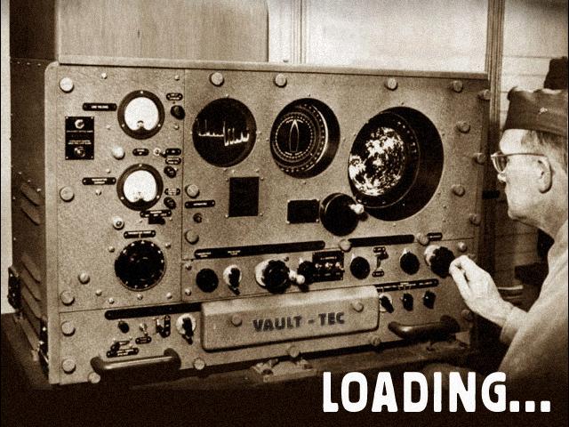 VT radio loading screen