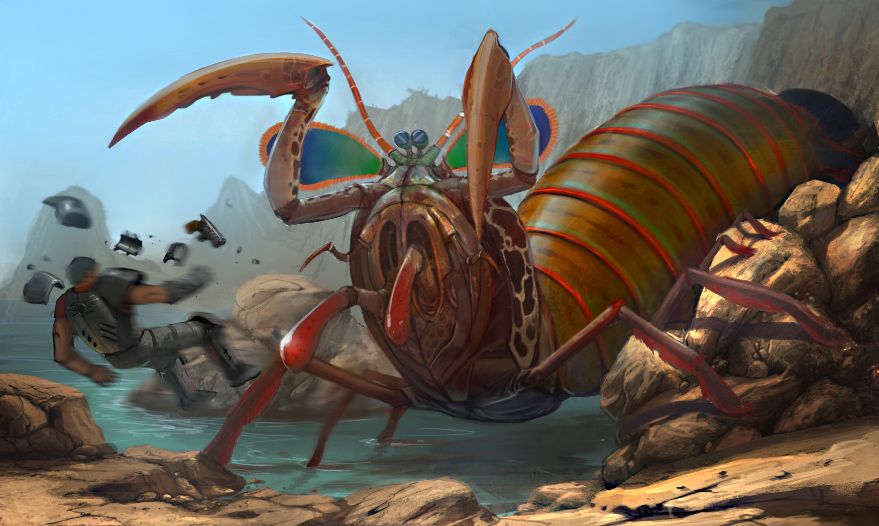Mutant mantis shrimp | Fallout Wiki | FANDOM powered by Wikia