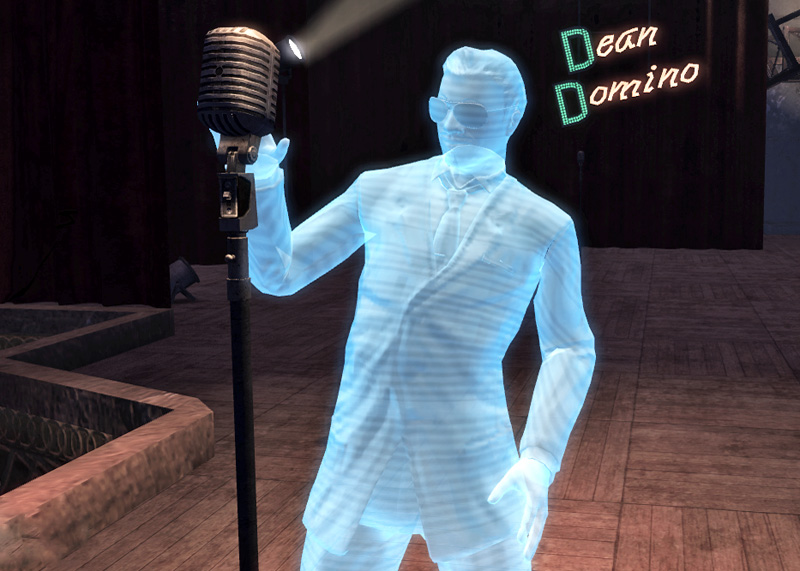 Dean Domino hologram