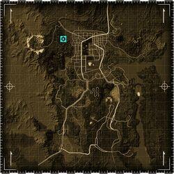 FNV Vault 22 gmap