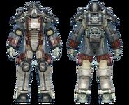 FO4CC T-45 power armor minutemen revolutionary