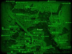 FO4 Пиццерия (карта мира)