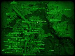 FO4 Статуя Пола Ревира (карта мира)
