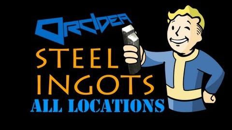Fallout 3 The Pitt - Steel Ingots
