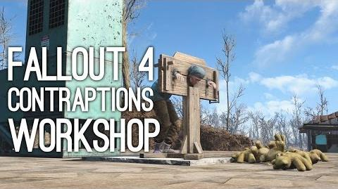 Fallout 4 Contraptions Workshop DLC Trailer - Fallout 4 Contraptions DLC Gameplay Trailer