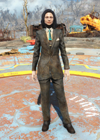 Fo4Dirty Black Suit