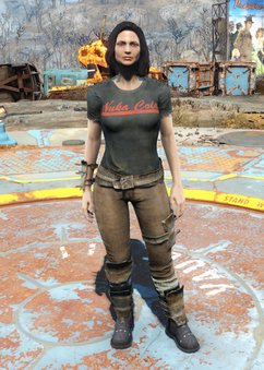 Armored Nuka-Cola outfit