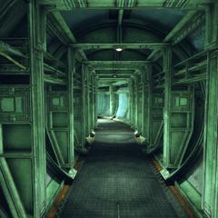 Emergency exit corridor