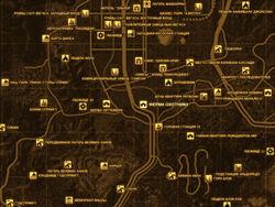 FNV Карта ФЕРМА ОХОТНИКА