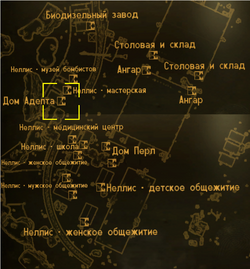 FNV Loyals house locmap