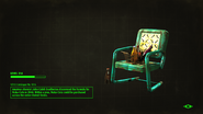 FO4NW Patio Chair Nuka-Cola