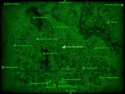 FO4 Склад «Масс фьюжн» (карта мира)