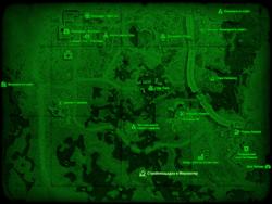 FO4 Стройплощадка в Мерквотер (карта мира)