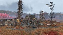 FO76 Bootlegger's shack