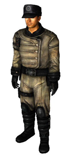 Fallout 3 Enclave Officer Uniform