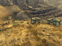 Mesquite Mountains Camp Site