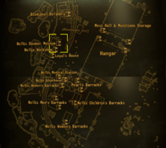 Nellis Boomer museum map