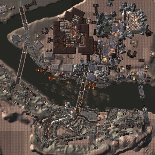 The Pitt map