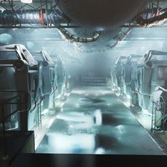 111号避难所内的维生舱