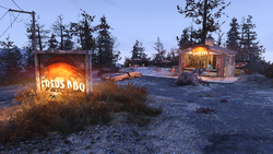 FO76 Big Fred's BBQ shack
