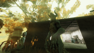 FO76 Deathclaw in C.A.M.P.