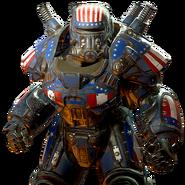 FO76atx skin powerarmor paint libertyprime patriot