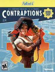 Fallout 4 Contraptions Workshop add-on packaging