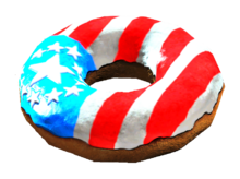 Fo4CC Old Glory donut