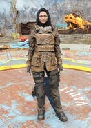 Railroad armored coat female