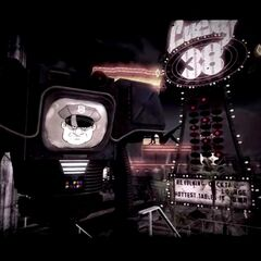 PDQ-88b securitron Mk I in the opening scene of <i>Fallout: New Vegas</i>
