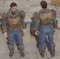 FO4 Sturdy metal armor general view