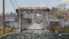 FO76 Charleston trainyard (entrance)
